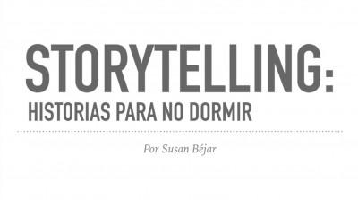 """STORYTELLING"": historias para no dormir (a nadie)"
